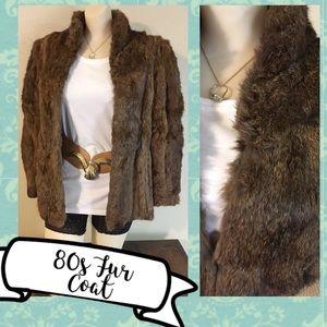 80s Fur Coat